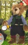 Вязание игрушки - Мишка натуралист