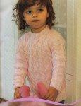 Вязание для девочек джемпера Hilo macrame
