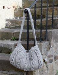 Вязание сумки спицами Harbour из Rowan 52