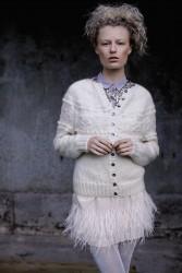 Белый кардиган Snowy (Белоснежный)