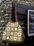 Вязание сумки Amber bag