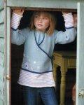 Вязание для девочек кардигана Skylark