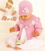 Вязание для девочек комплектов Rosy Posy