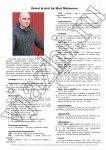 Мужской свитер с аранами описание 1