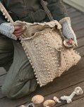 Вязаные сумки для пляжа