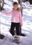 Вязание для девочек кардигана Gwen