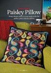 Вязание подушки Paisley