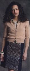 Вязаная короткая юбка спицами с описанием