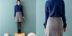 Вязание спицами для женщин юбки с описанием