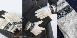 Модные перчатки спицами с описанием и схемой