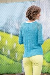 Steeple Pullover by Amy Gunderson