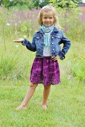 Вязание для девочек юбки спицами