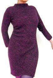 Теплое вязаное платье Diagonal Dress or Tunic