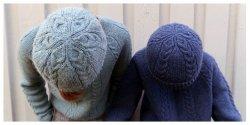 вязание шапки по кругу пошагово без швов