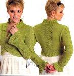Схема вязания свитера английской резинкой фото 452
