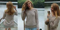 Пуловер регланом фото и описание