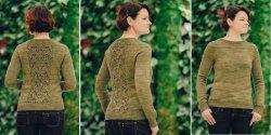 Пуловер без швов