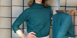 Пуловер оверсайз для женщин фото
