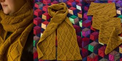 Beeswax scarf foto 1