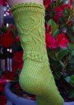 Вязание носков от мыска спицами