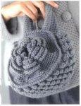 Вязание сумки крючком - маленькая круглая сумочка