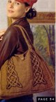 Сумка спицами кельтскими косами вязание бесплатно