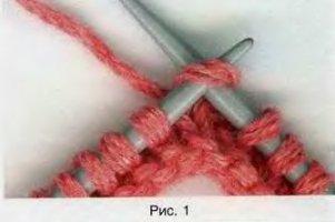 закрытие петель итальянским способом при круговом вязании