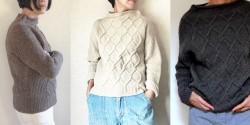 Вяжем свитер спицами схема для начинающих