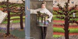 Красивый свитер спицами из толстой пряжи схема и описание