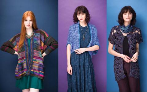 Вязание спицами для женщин моделей 2016 года из пряжи ручного окрашивания