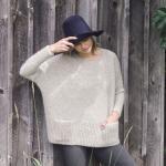 Свободный пуловер модный Ash