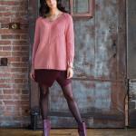 Свободный пуловер реглан Guernsey из журнала Vogue осень 2016