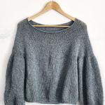 Вязаный по кругу пуловер Miromesnil
