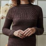 Пуловер с круглой кокеткой Yayoj
