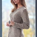 Пуловер с косами Oydis