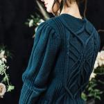 Пуловер с косами Nightingalе